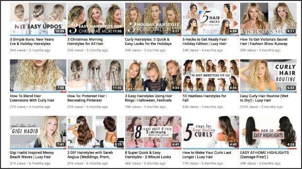 بازاریابی محتوا از یوتیوب